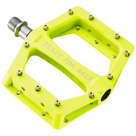 Cube RFR Flat Race - Pédales - jaune